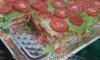 Salad Lasagna
