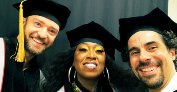 Justin Timberlake, Missy Elliott, and Alex Lacamoire Receive Honorary Doctorate Degrees