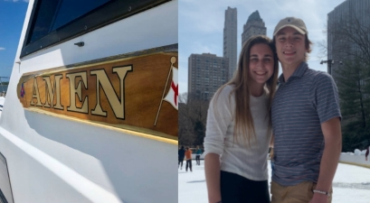 "Two Teens Swept Out to Sea Started Desperately Praying to God, Saved by Boat Named ""Amen"""