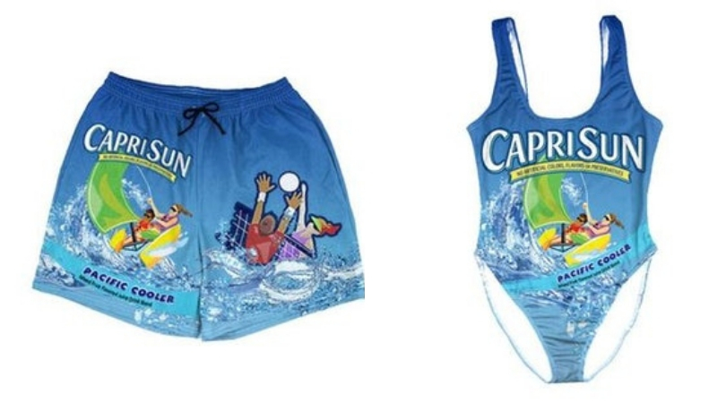 These Capri Sun Swimsuits Are All You Need This Summer!