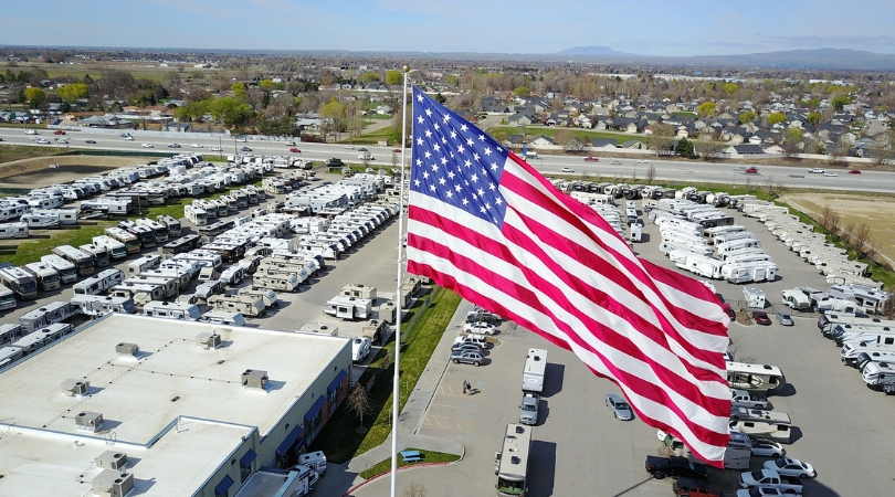 Store Faces $11,000 Fine for Huge American Flag and the Fine Keeps Growing