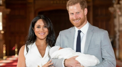 Prince Harry and Meghan Markle Reveal Baby Sussex's Name