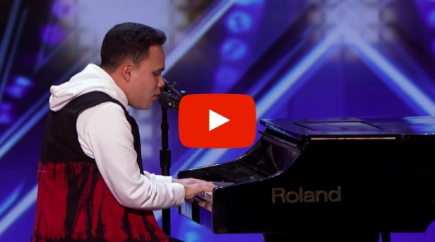 Blind Autistic Singer Shocks 'America's Got Talent' Judges With Golden Buzzer Performance