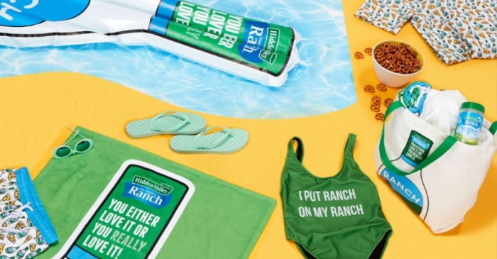 Hidden Valley Ranch Created The Ultimate 'Ranch' Swimsuit For Summer