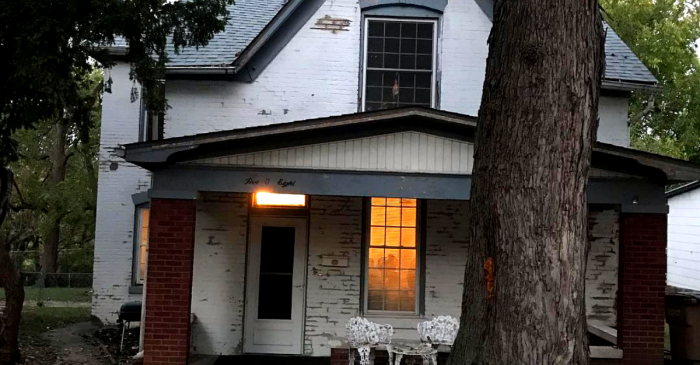 This Little Girl's House Really IS the Scariest Place in America