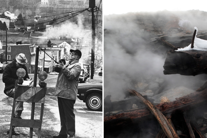 This Town Set Itself on Fire in 1962 and It's Still Burning 57 Years Later