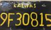 Fake License Plate Meth