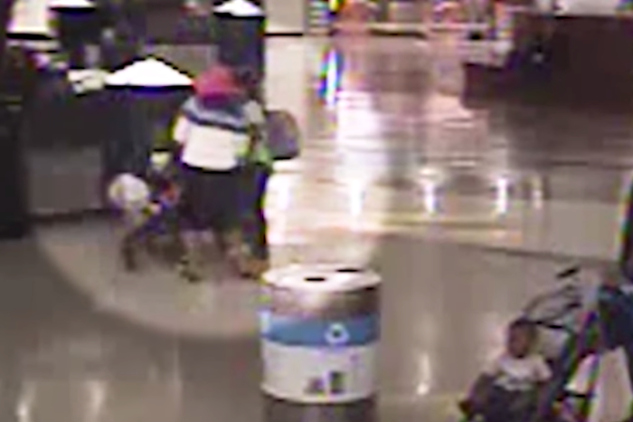 Security Footage Shows Woman Attempt to Kidnap Child Right Out of Mother's Arms