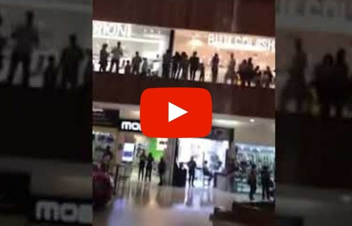 Band Hilariously Plays 'Titanic' Song as Shopping Mall Quickly Floods