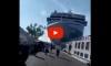 Shocking Video Shows Cruise Ship Crashing Into Tourist Boat