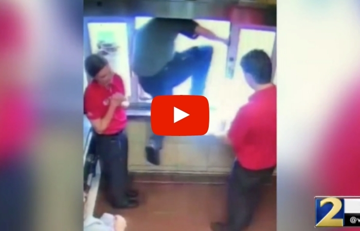 Chick-Fil-A Employee Jumps Out of Drive-Thru Window to Save Choking Boy