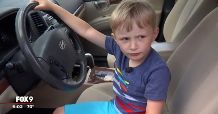 4-Year-Old Steals Great-Grandfather's SUV To Buy Candy at The Gas Station
