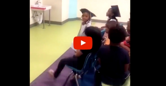 Preschooler Tells Teacher to 'Shut The F**k Up' During Graduation Ceremony