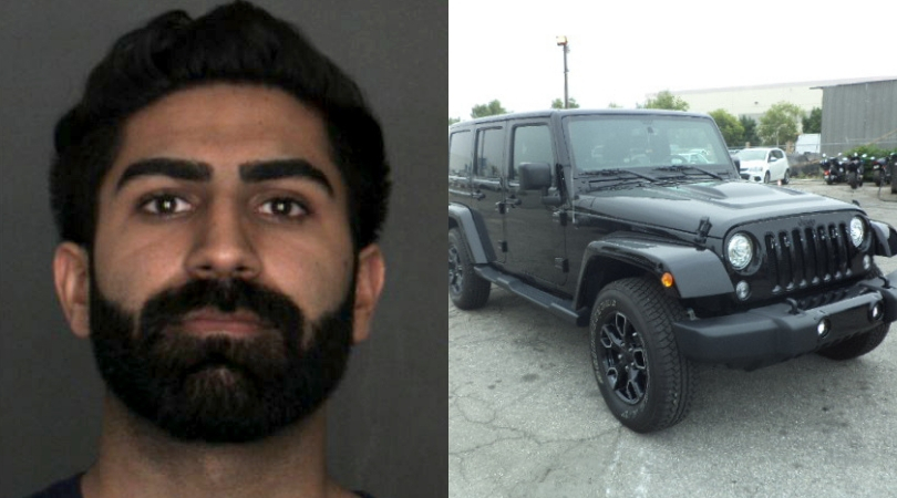 Man Impersonating Cop Accidentally Pulls Over Undercover Detective