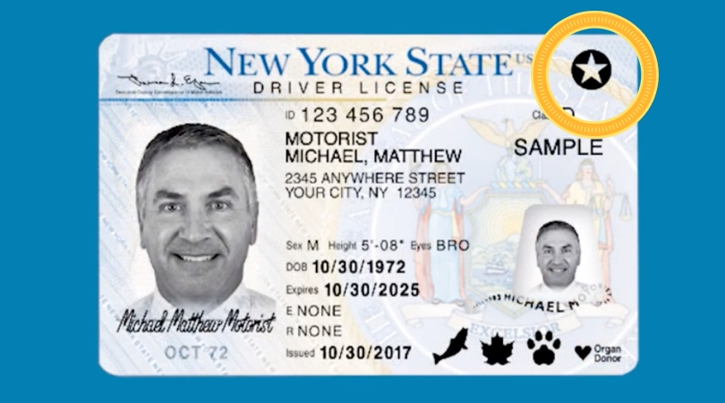 Heads Up! Your Driver's License Needs a Star If You Want To Travel