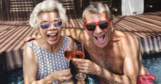 Florida's Friendliest Hometown: Retirees Go Wild Like College Kids on Spring Break