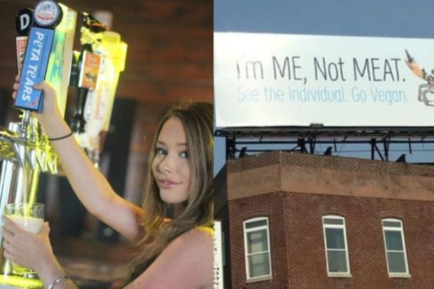 "Restaurant Creates New Beer Called ""PETA Tears"" After Billboard Feud"