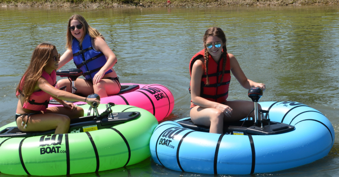 These Motorized Pool Floats Let You Play Bumper Cars on Any Body of Water