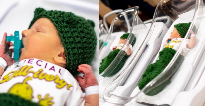 "These Newborns Dressed as Pickles are The Most ""Dill-lightful' Thing You'll See Today"