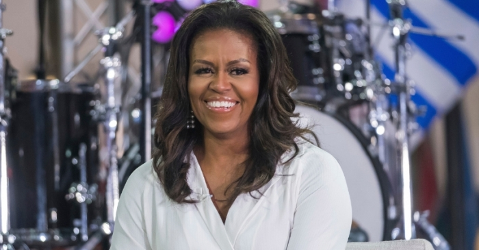 Michelle Obama Named 2019's 'Most Admired Woman' in the World