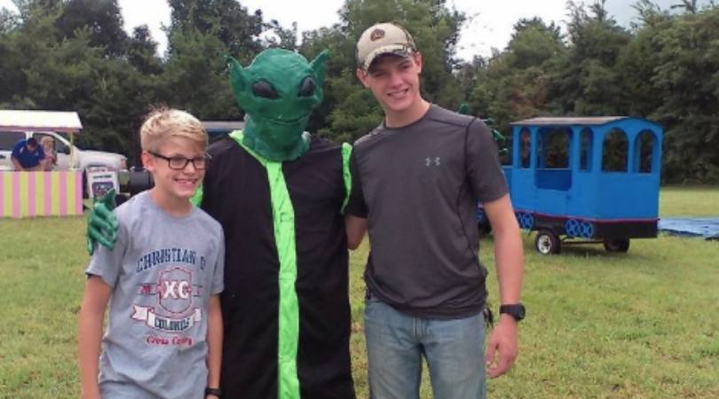 The 'Kyle Little Green Men Days Festival' Is an American Towns Tribute to Aliens