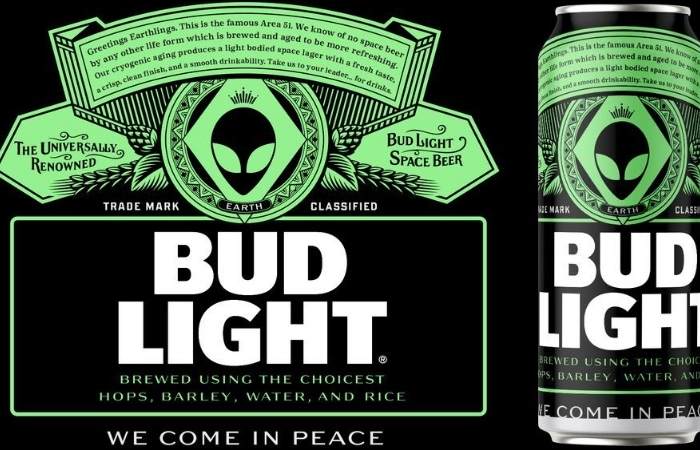Bud Light Offers Free Beer to Any Alien That 'Makes It Out' of Area 51
