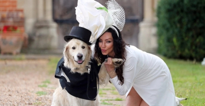 After 220 Failed Dates With Men, This Model Decided to Marry Her Dog Instead