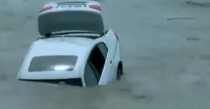 Ungrateful Son Pushes BMW His Parents Got Him into River Because He Wanted a Jaguar