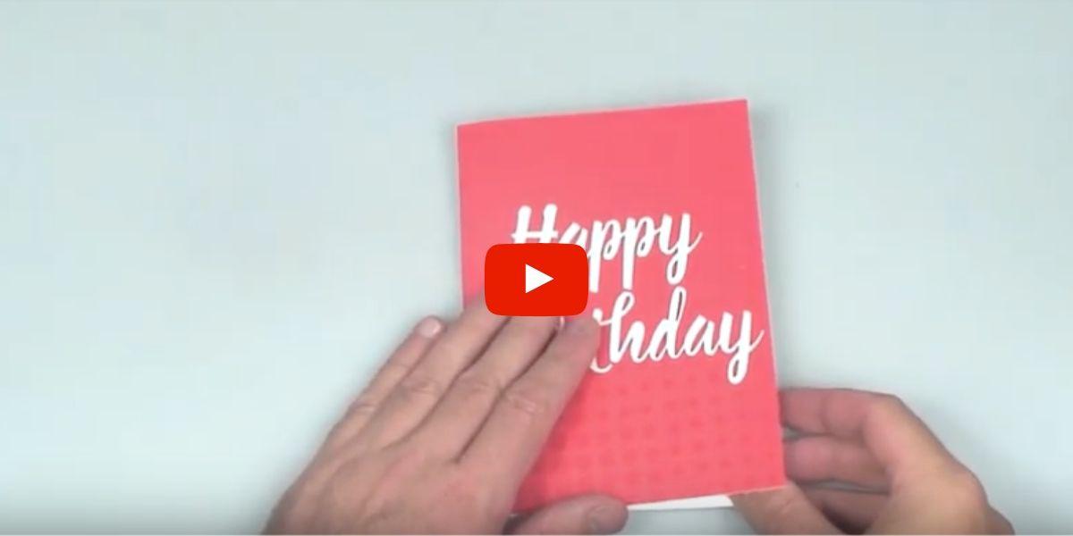 Endless Happy Birthday Card