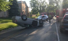 Michigan Woman Flips Car
