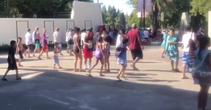 40 Person Brawl at Waterpark Starts Over Beach Towel, Very Nearly Kills Man
