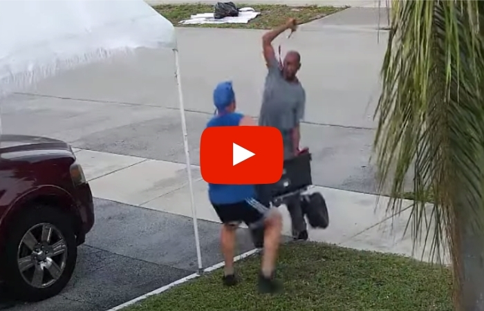 Wannabe Florida Pirate Attacks Jogger With Sword in Fight Over Cart Found on Trash Pile
