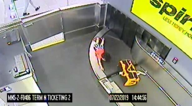 Toddler Climbs Onto Airport Conveyor Belt, Takes 5-Minute Joyride