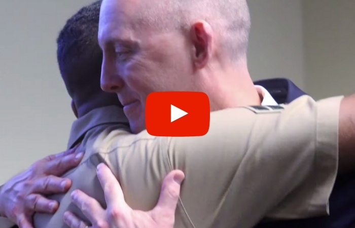 Marine Kidnapped as Newborn Meets FBI Agent Who Rescued Him Over 2 Decades Ago