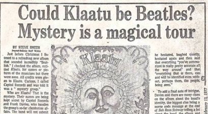 Klaatu's 1977 Album Sold 1M Copies Because Everyone Thought They Were the Beatles
