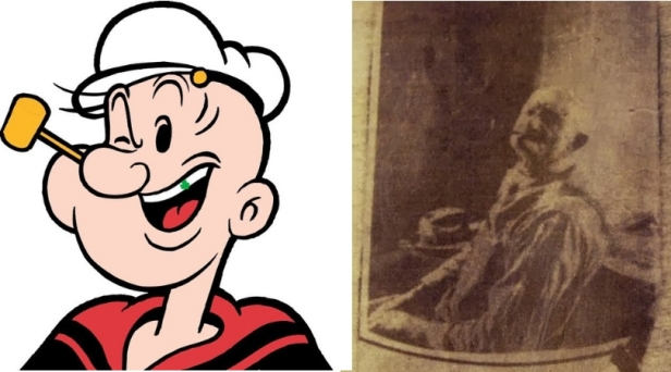 The Real Popeye! Frank 'Rocky' Fiegel Inspired the Cartoon