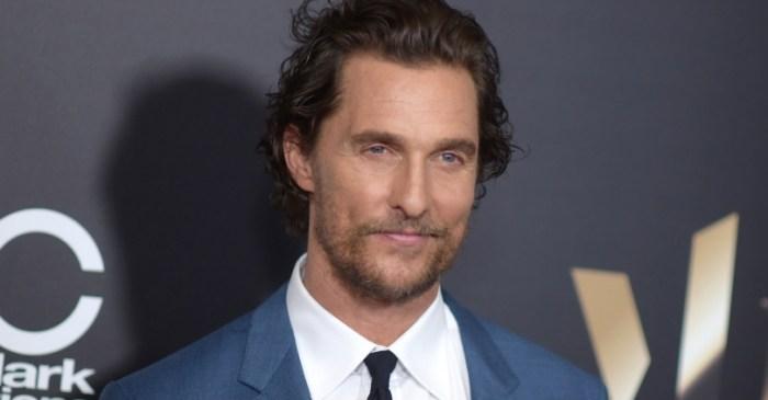 Matthew McConaughey Joins University of Texas Faculty