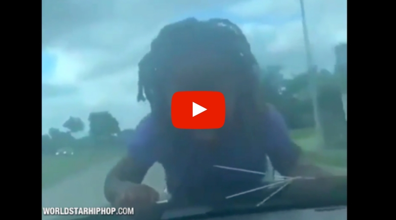 Parent Drives With Child on Hood of Car as Punishment
