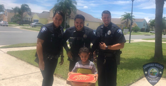 Little Boy Called 911 Because He Was Hungry and Wanted Pizza… And it Worked