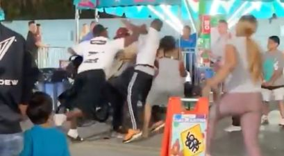 Adult Brawl Breaks Out in Children's Area of Carnival Because of Course it Does