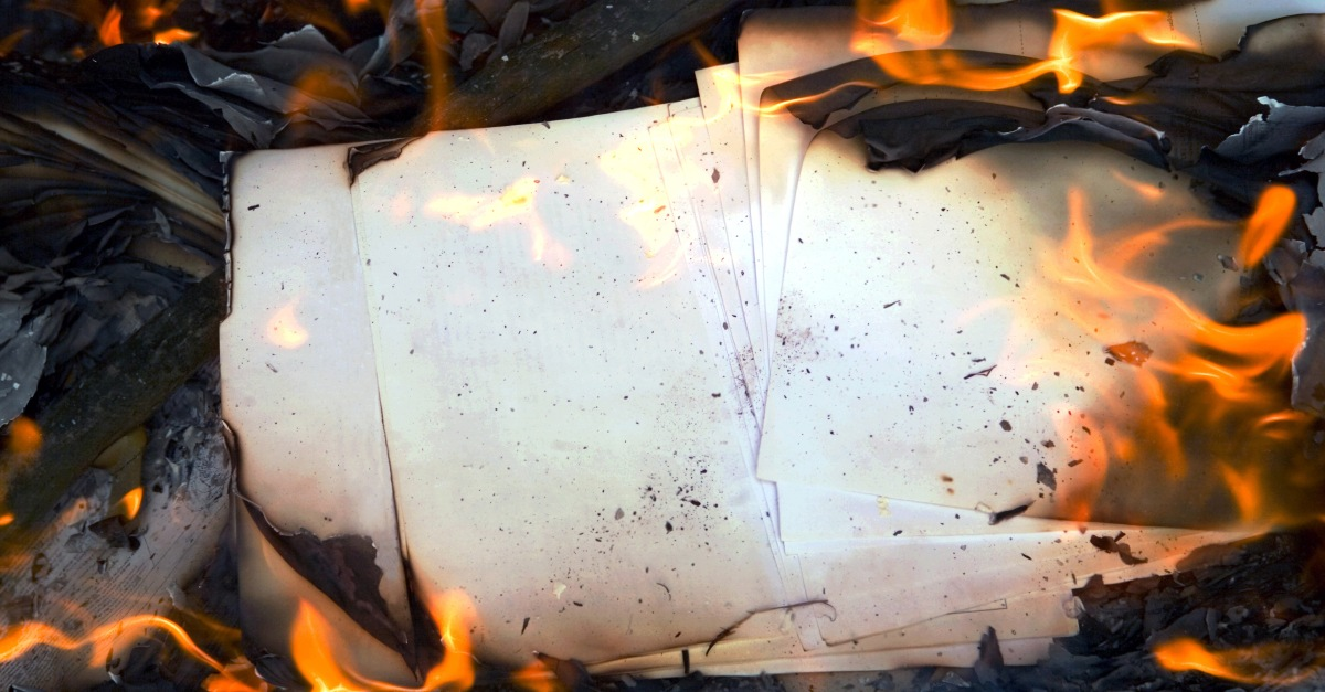 Apartment Fire Love Letters