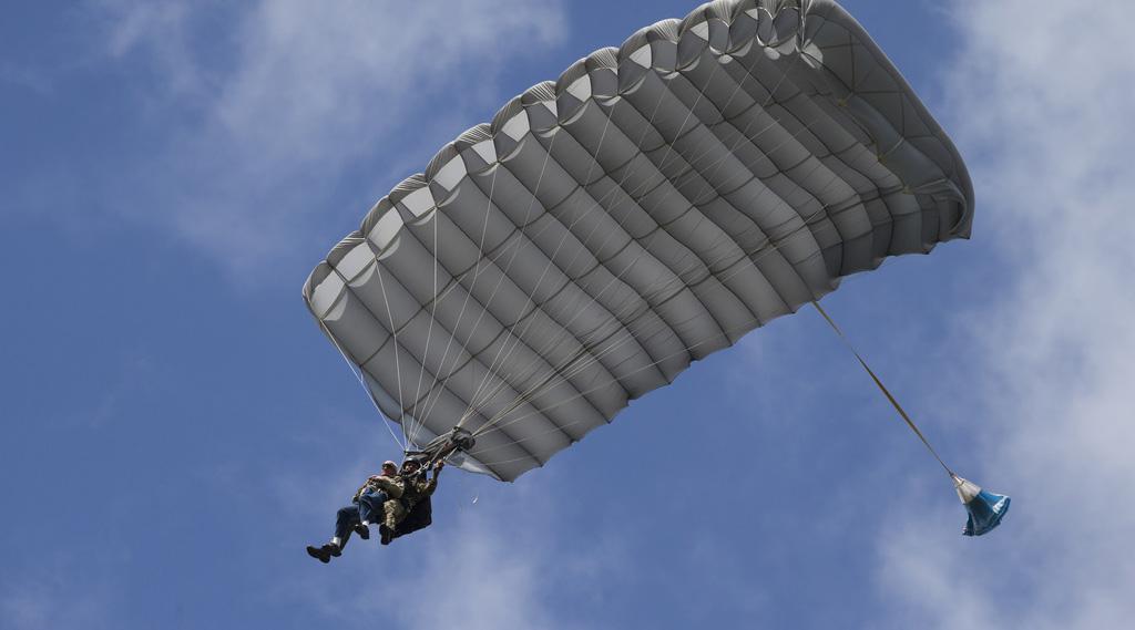 D-Day Veteran Parachute