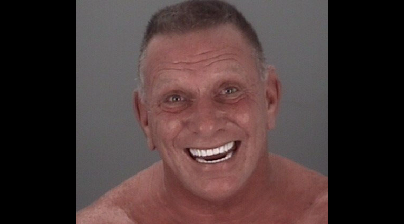 Florida Man Smiling Mugshot