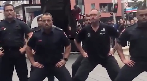New Zealand Firefighters Do Haka Dance to Honor New York Firefighters Lost on 9/11