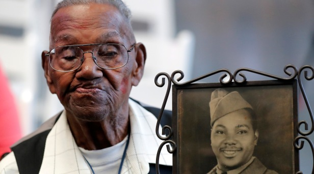 WWII Veteran Celebrates 110th Birthday in New Orleans