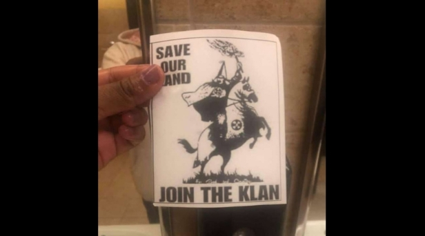 Flyers Asking Students to Join the KKK Found on Texas High School Campus