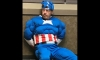 'Captain America' Get's Caught Breaking into HomeShed