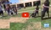 Marine Breaks Up Brawl By Violently Tackling Students to The Ground