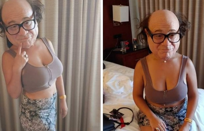 This Danny DeVito Mask is So Realistic it Will Haunt Your Dreams