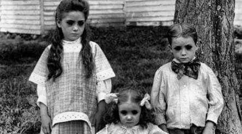 "The Haunting Legend Behind The ""Black-Eyed Children"""